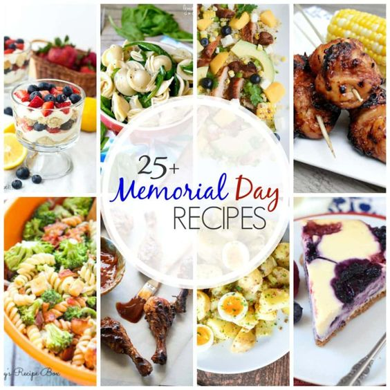 25+ Memorial Day Recipes - A Dash of Sanity