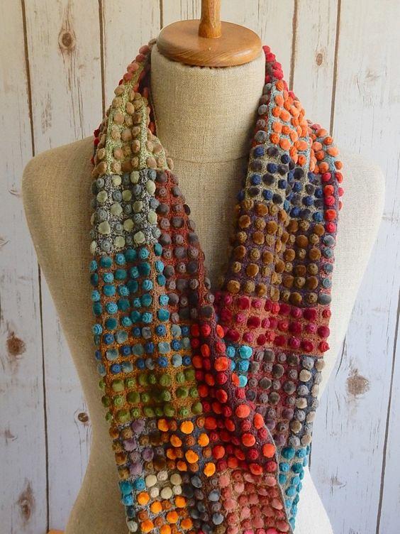 """""""Biotop"""" scarf, Sophie Digard:"""