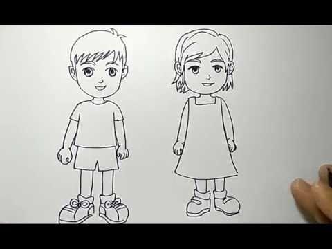 Cara Menggambar Orang Anak Cowok Dan Cewek Dengan Mudah Banget 3 Cara Mudah Melukis Wajah Yang Bisa Dilakukan Oleh Sia Lukisan Gambar Menggambar Wajah Gambar