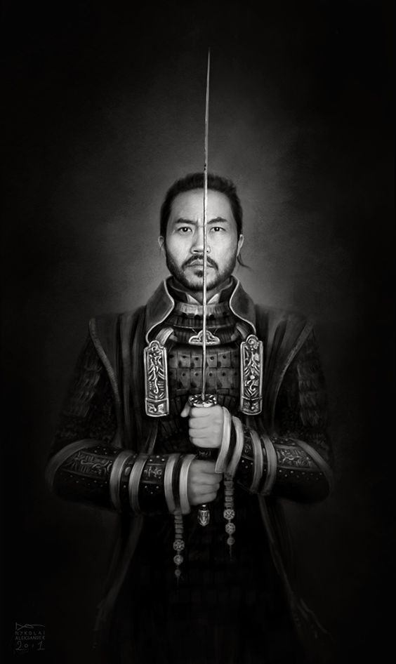 admemento: SamuraiDigital Painting2o11