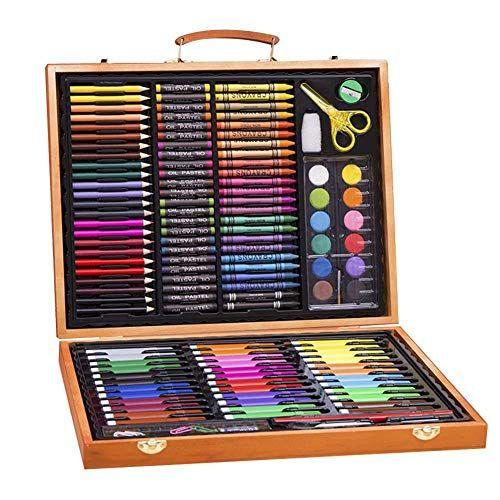 Sets De Dessin Malette De Coloriage Enfants Aquarelle Crayon
