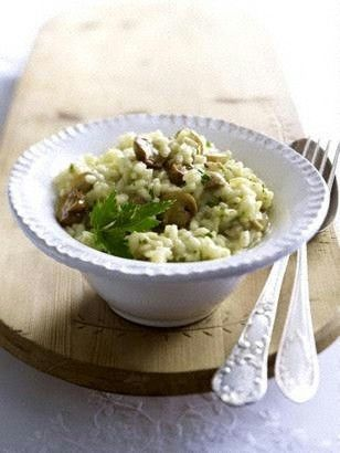 Pilzrisotto Rezept - Chefkoch-Rezepte auf LECKER.de   Kochen, Backen und schnelle Gerichte