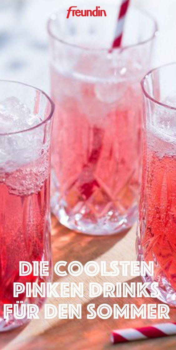 Drink Pink Die Coolsten Pinken Drinks Fur Den Sommer Freundin De Weincocktails Gin Tonic Rezept Pink Gin