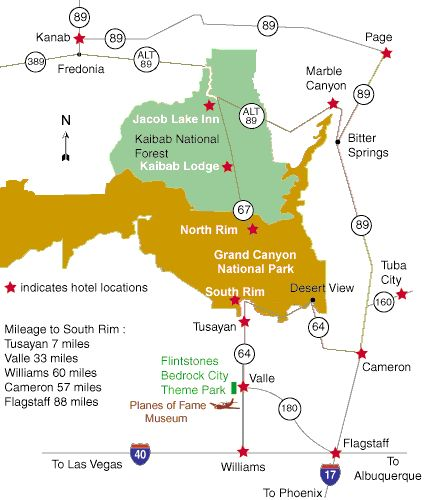 Grand Canyon Hotels and Motels