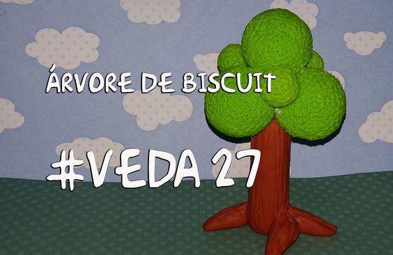 Árvore de biscuit #VEDA 27 - Neuma Gonçalves