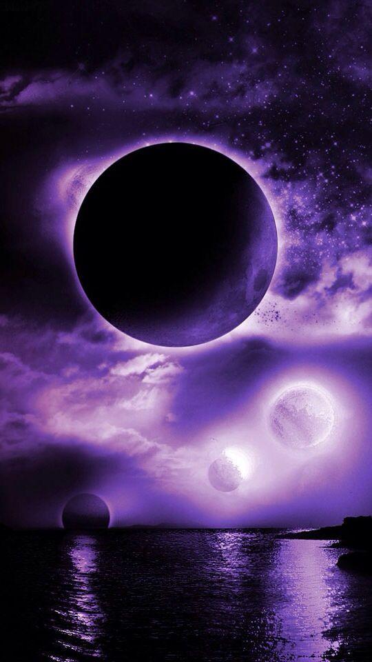 New Moon Spells Nature Scenery Beautiful Moon