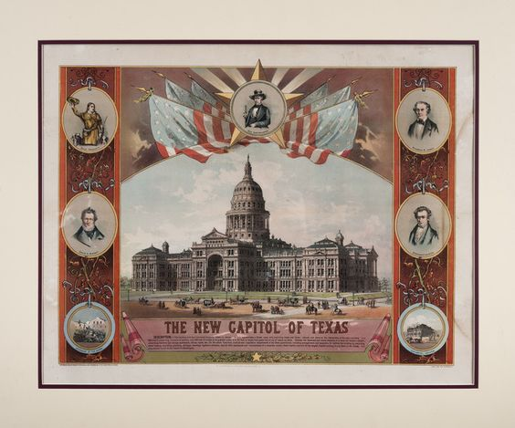 The New Capitol of Texas, 1885