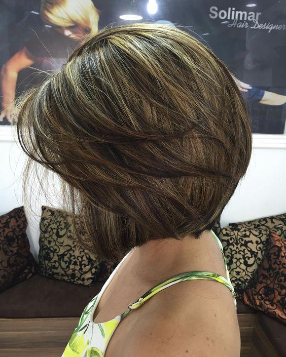 "47 curtidas, 1 comentários - Solimar✂️Hair Designer ✂💇 (@salaosolimar) no Instagram: ""Minha cliente lindaaa corte e cor por Solimar #salaosolimar #hairstyle #hair #cabeleireiros…"""