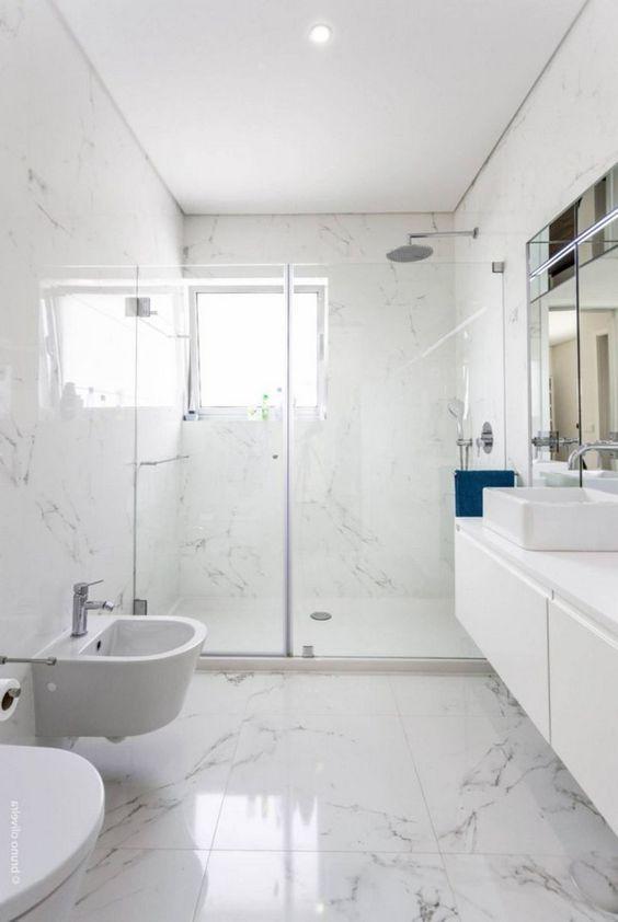 Bathroom Marble Ideas For Luxurious Effect Marble Tile Bathroom