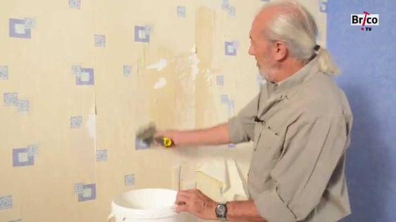 Comment Decoller Du Papier Peint Sans Decolleuse D Coller Bricolage Avec Robert Youtube Davidreed Co Decoller Papier Peint Papier Peint Peindre