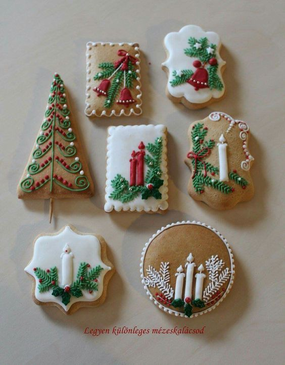 Some Of The Best Decorated Christmas Cookies Christmas Cookie