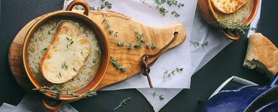 Receita Light da Semana: sopa de cebola à francesa | Território Animale