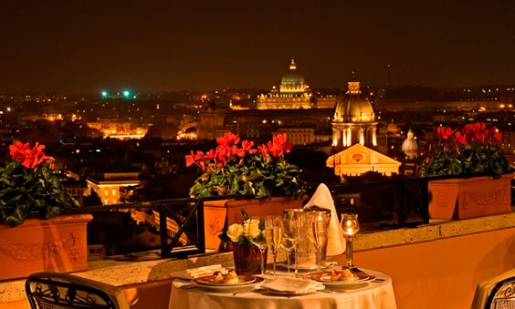 Hotel Near Spanish Steps, Hassler Roma Hotel, Images of 5 Star Hotel Rome