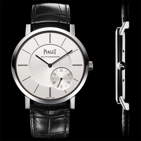 L'Altiplano de Piaget. Mouvement le plus fin de l'horloger.