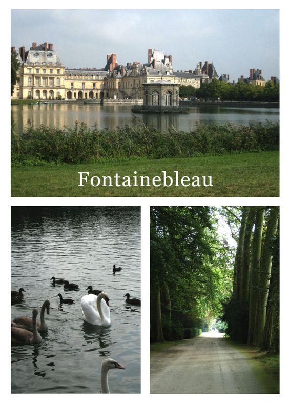 Fontainebleau gardens
