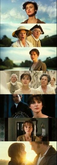 Pride and Prejudice (2005) . One of the most beautifully shot films I've ever watched