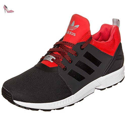 Adidas Zx Flux NPS updt Baskets Homme 44 - Noir/Rouge - Chaussures ...