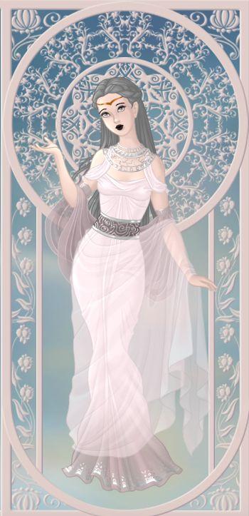Melinoe, déesse des fantômes (on azalea's dolls):
