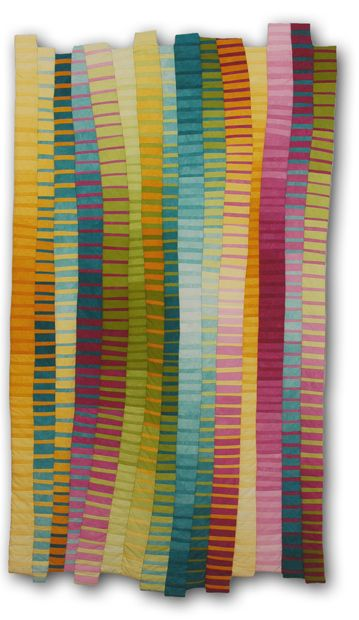 Art Quilt by Anne R. Parker: Gradations
