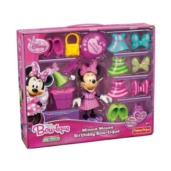 Fisher-Price Disney's Birthday Bowtique Minnie Mouse : Toys & Games : Amazon.com