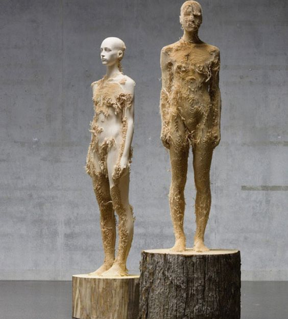 The Organic Sculptures of Aron Demetz | Hi-Fructose Magazine
