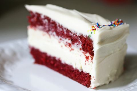 Red Velvet Cheesecake Cake (from 17 and Baking)