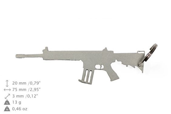NEW Kalashnikov gun bottle opener stainless by ArtDogshopcenter