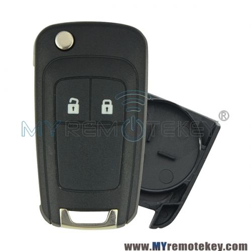 Flip Remote Key Shell Case 2 Button For Chevrolet Cruze Buick Chevrolet Cruze Chevrolet Buick