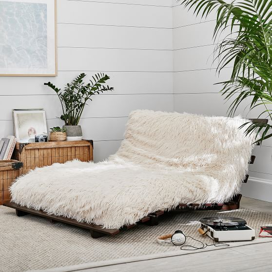Furlicious Faux Fur Futon Sets