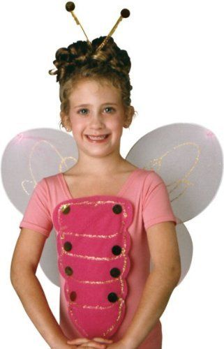 Rubies Kids Pink Butterfly Costume Wings Girls Accessory Kit Rubie's Costume Co. $6.99. Save 26% Off!