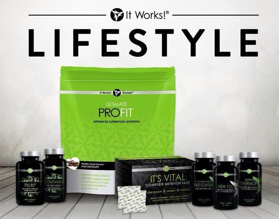 """It is a Lifestyle!! I can honestly say I have used every one of these products and I feel WONDERFUL!!! """"It Works"""" lets you nourish your body from the inside out and the outside in.... No matter how """"healthy"""" your lifestyle is your still probably not getting all the nutrients you need!!!!  Message me if you have any questions. Check out all the different product choices you have and order your favorite ones today : www.getskinnywithkim.myitworks.com"""