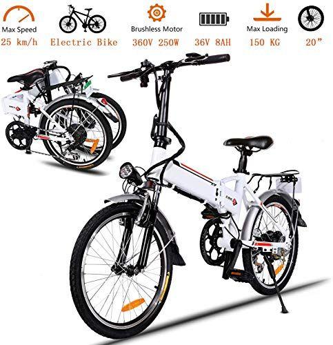 Best Seller Korie 20 Folding Electric Bike 36v Lithium Ion Battery