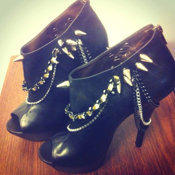 #shoes #heels #88bklyn.com #TheAlima  feat. Spikes and chains