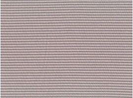 Jersey Streifen beige-taupe