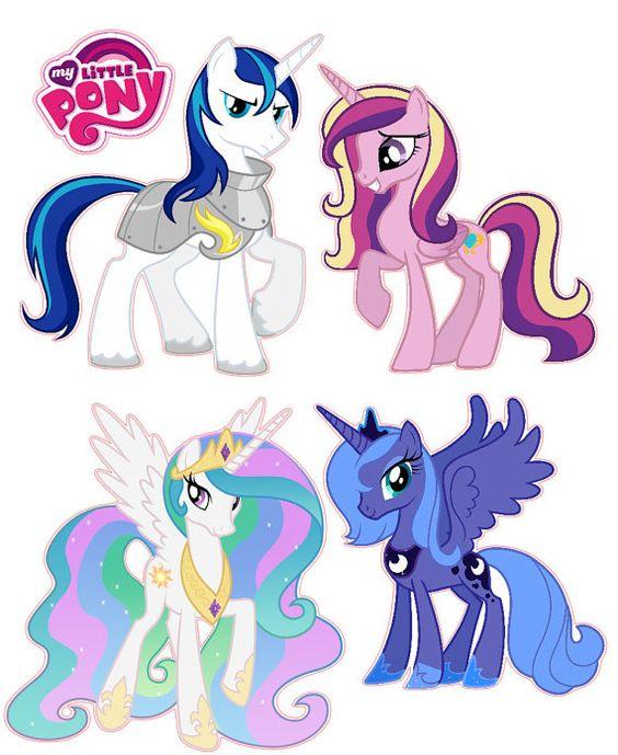 Mi pequeño Pony princesa sistema a Luna cadencia Celestia removible pared calcomanía pegatinas