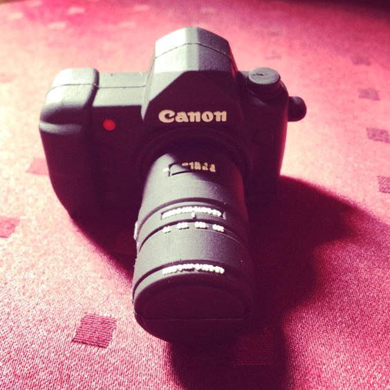 Canon camera usb miniature