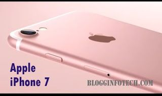 new apple iphone 7 features