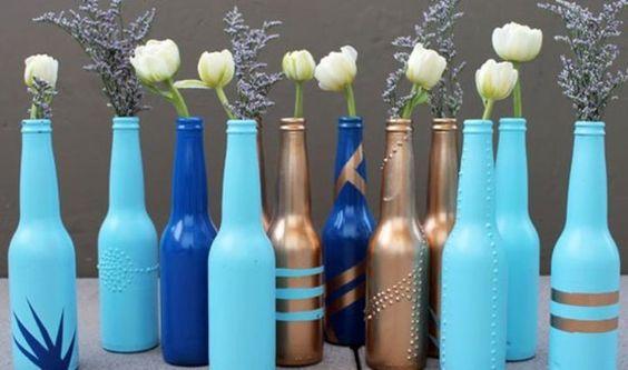 O que fazer com garrafas vazias?  Enchê-las de Paixão, com criatividade!    Spread the Love»»»»»»»  Arrendar Algarve Com Paixão