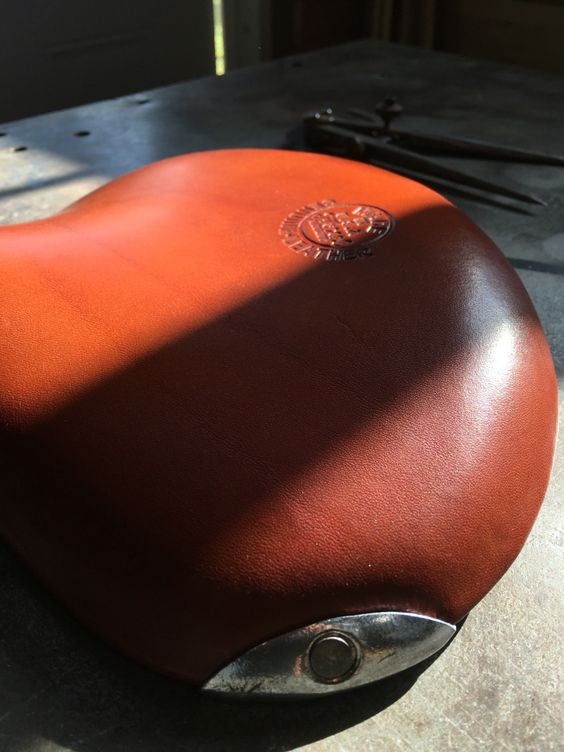 Troxel bicycle saddle almost finished