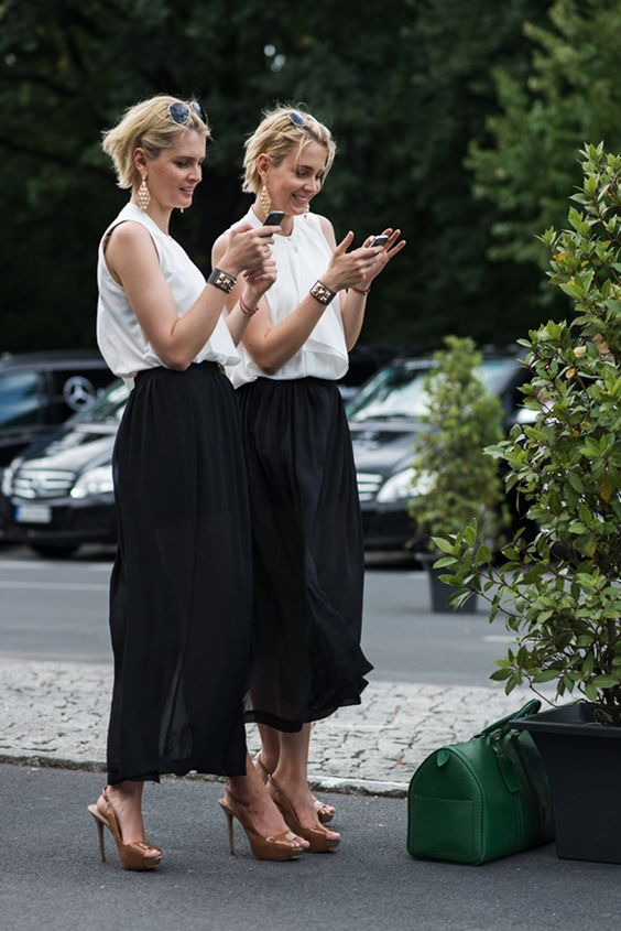 Street style inspiration: Maxi skirts are for Summer!