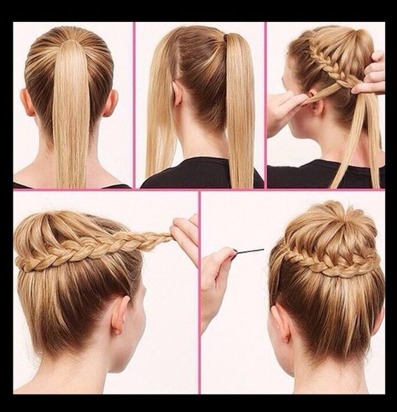 Step By Step Easy Hair Style Tutorials Beauty Hair Pinterest Style Easy Hair And Step