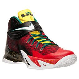 Men's Nike Zoom Lebron Soldier 8 Premium Basketball Shoes | Finish Line