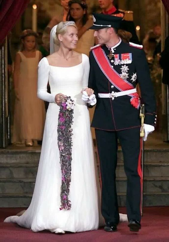 Haakon and Mette Marit of Norway