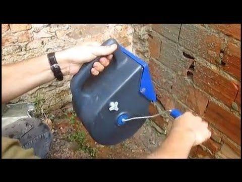 Como Impermeabilizar contra umidade utilizando chapisqueira manual