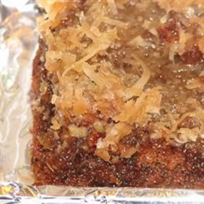 #recipe #food #cooking German Chocolate Upside Down Cake