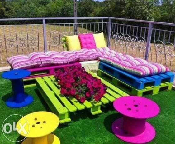 pallets garden - Buscar con Google