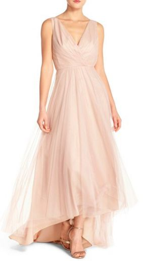 Beautiful blush pink gown