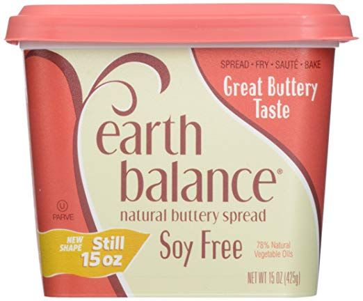 Are You Looking For Dairy Soy Gluten Lactose Free Butter Then Look No Further This Butter Not Only Tastes God But Is One Soy Free Vegan Earth Balance