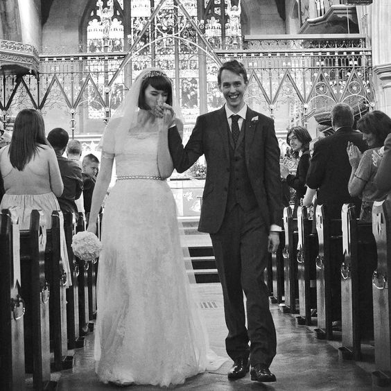 Our Moonrise Kingdom moment soundtracked by the Jurassic Park theme tune played on the piano. Sorrynotsorry for all the anniversary spam that is going to happen. . #bexandpaul #paulandbex #wedding #anniversary #moonrisekingdom #monochrome #jurassicpark