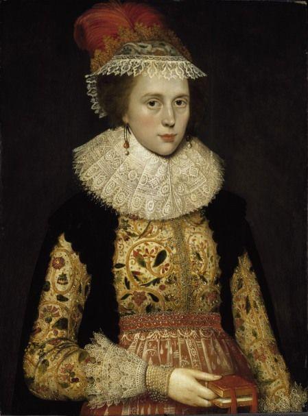Portrait of Margaret Layton, attributed to Marcus Gheeraerts, 1620